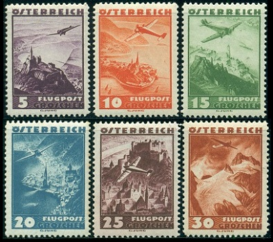 Austria Stamps Issues Of 1935 1937
