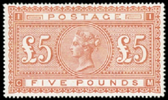Image result for 5 pound stamp