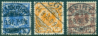 German Empire - Numeral Issues of 1875-1890