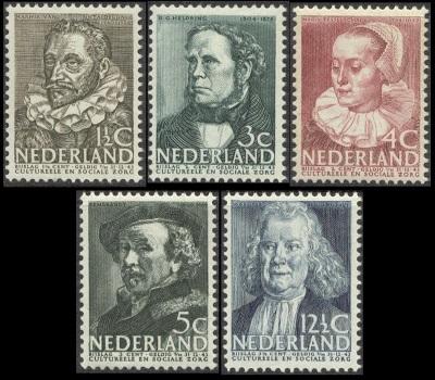 Stamps Netherlands 1937 Surtax For Child Welfare