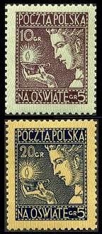 Polish Stamps Charity Stamps Of 1919 1939