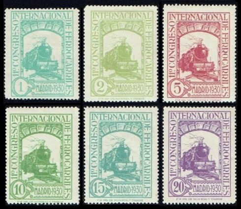 Spanish Stamps - Commemoratives of 1930