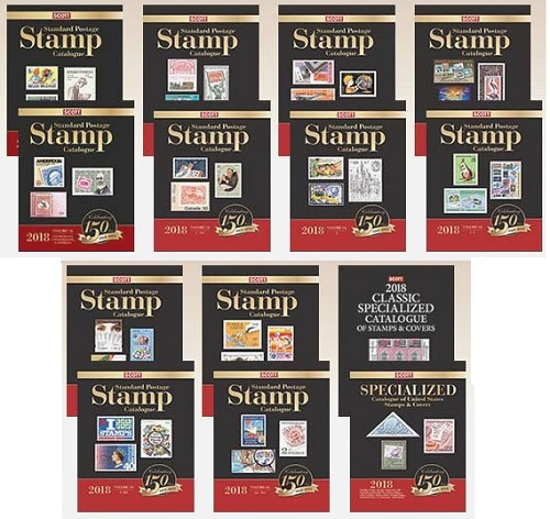 Stamp Catalogs - Worldwide