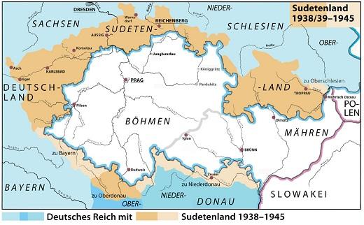 Bildergebnis für besetzung sudetenland