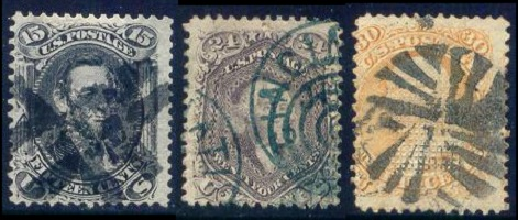US Classic Stamps - General Issues of 1861-1868