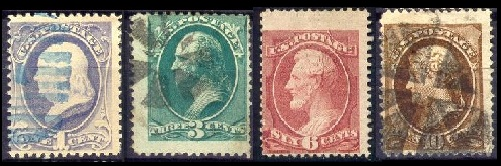 Us Classic Stamps General Issues Of 1870 1888