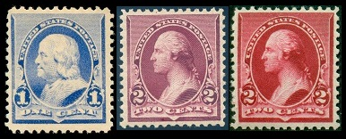 All Of The US Classic Stamps Shown Above Sc 219 29 Were Issued In February 1890 Except For 8 Cent Denomination