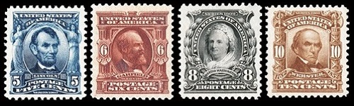 Us Stamps General Issues Of 1902 1908