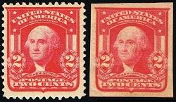George Washington 2 Cent Stamp Value 1866 Red