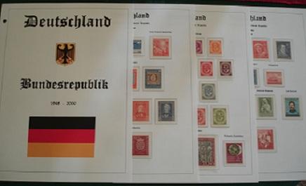 Stamp Album Pages - Custom