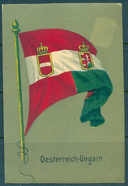 Austro Hungarian Empire Flag 1914